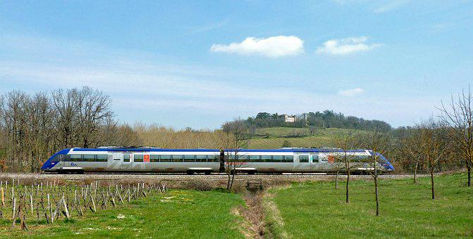 Train, Sncf, Track, Railway, Rails
