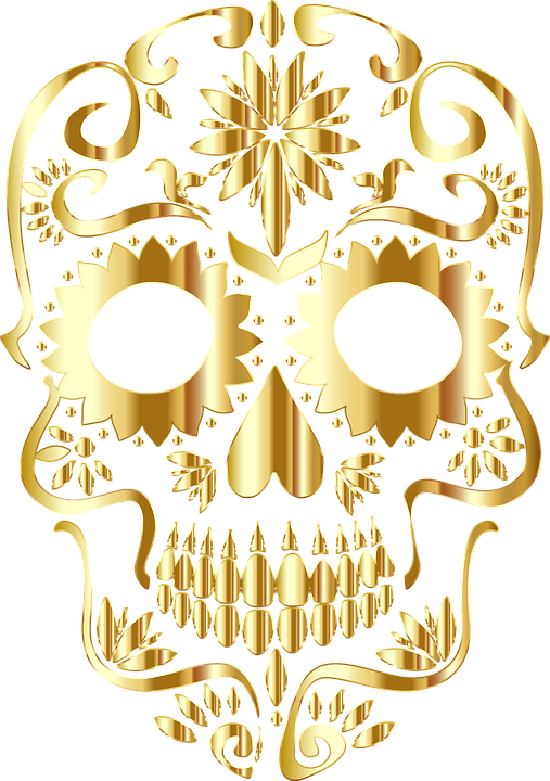 sugar skull knochen calavera kostenlose vektorgrafik auf pixabay. Black Bedroom Furniture Sets. Home Design Ideas