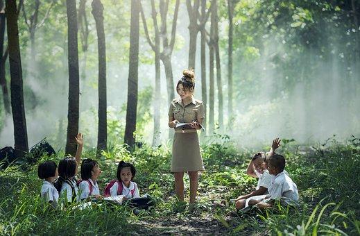 Öğrenme, Okul, Açık, Asya, Kitap, Erkek