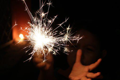 Sparkler, Festival, Light, Deepavali