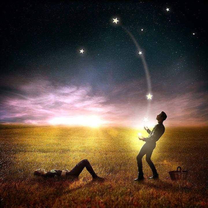 男, 女性, ペア, 愛, 男と女, 人間, ロマンス, 2 つの, 個人, 風景, 夜, 太陽, サンセット
