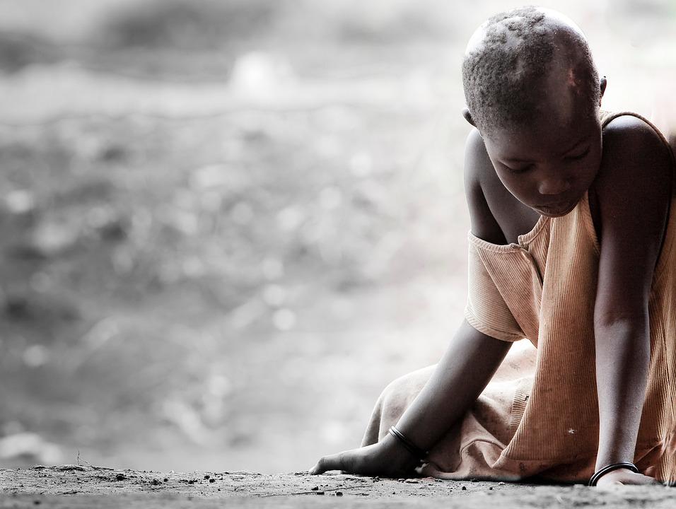 Tristezza, Africa, Malattia, Viso, Povertà, Malato