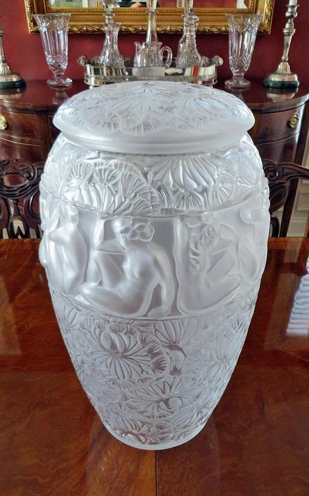 Lalique Crystal Vase Free Photo On Pixabay