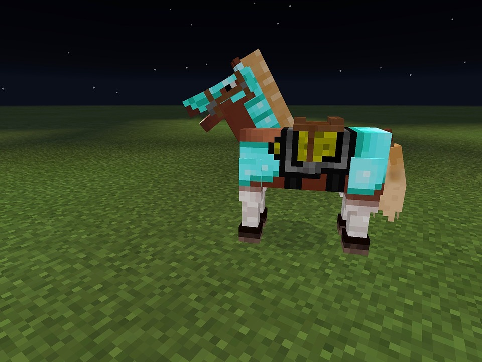 Minecraft PixelArt Pferd Kostenloses Bild Auf Pixabay - Minecraft spiele mit pferden