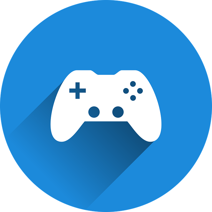 Video Game Controller Icon Free vector graphic: C...