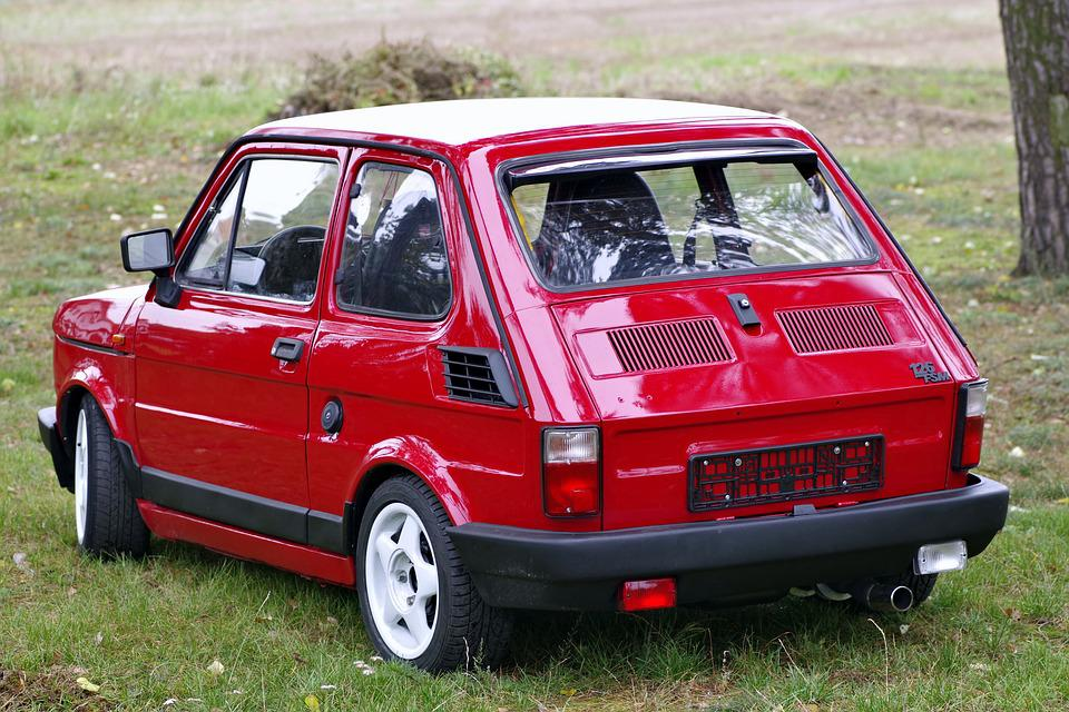 free photo small fiat toddler fiat 126p free image on pixabay 1785630. Black Bedroom Furniture Sets. Home Design Ideas