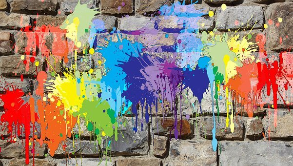 Painting Wall Mural Colors Graffiti