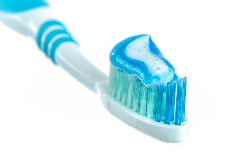 Dentifrice, Brosse À Dents, Blanc