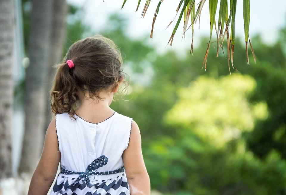Natur Madchen Palmen Kostenloses Foto Auf Pixabay