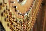 harp, string, tension