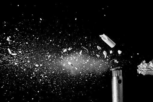 Shot, Explosion, Broken, Bullet
