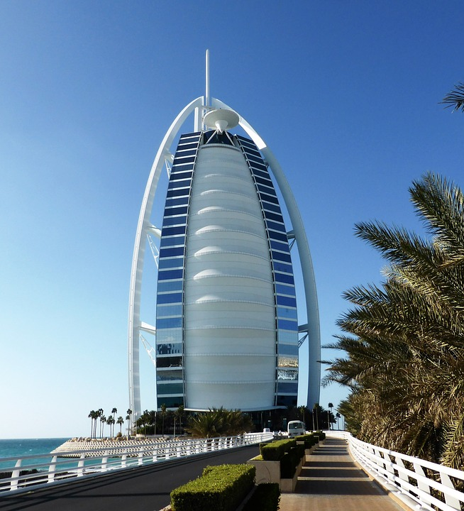 Exclusive Hotel In Dubai: Hotel Dubai Burj Al Arab · Free Photo On Pixabay