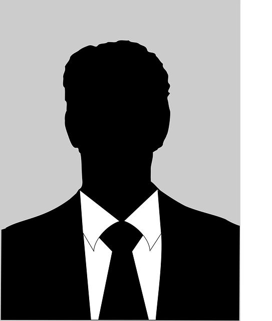 Silhouette Male Black And White · Free vector graphic on ...