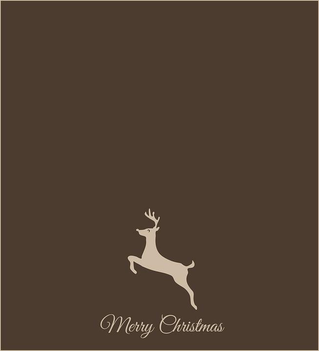 Sfondi Natalizi Renne.Natale Renna Buon Cartolina Immagini Gratis Su Pixabay