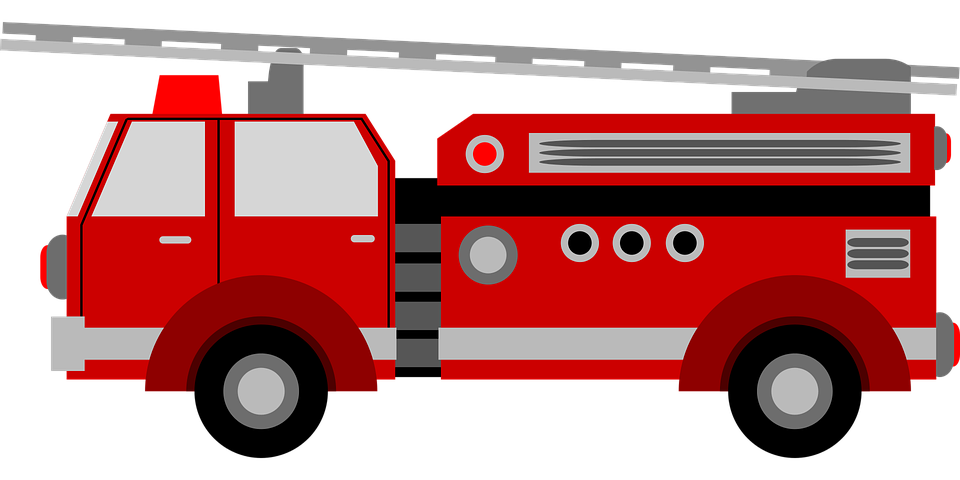 firetruck kids child free vector graphic on pixabay