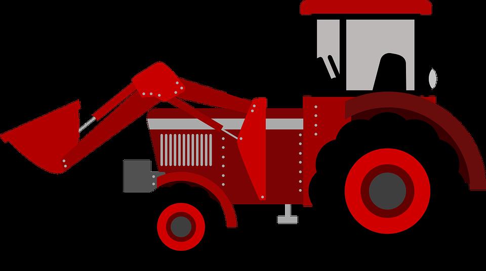 Tractor Clip Art Transparent : Tracteur ferme enfant · images vectorielles gratuites sur