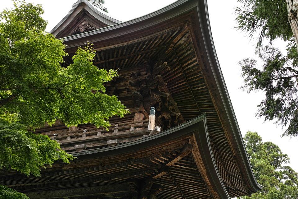 円覚寺, 寺, 鎌倉, 日本, 屋根