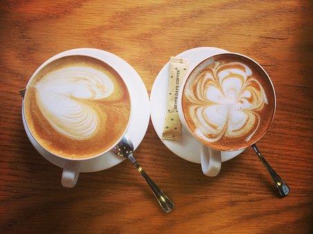 Coffee, Caramel Macchiato, Cappuccino