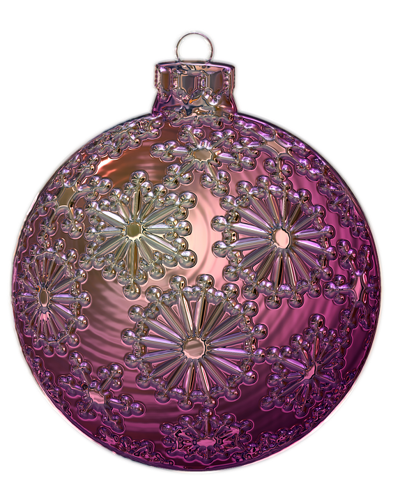 Kostenlose illustration weihnachtskugel metallizer - Weihnachtskugeln transparent ...
