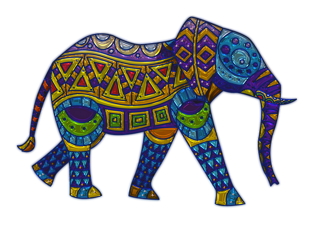 Elephant Metallizer Art 183 Free Image On Pixabay