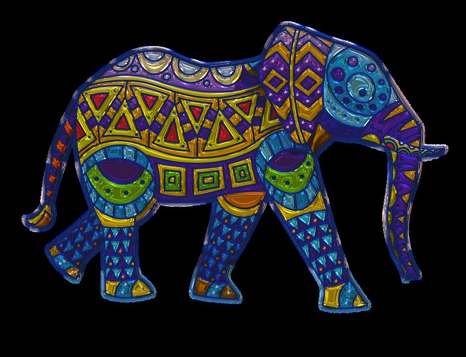Elephant Metallizer Art · Free image on Pixabay