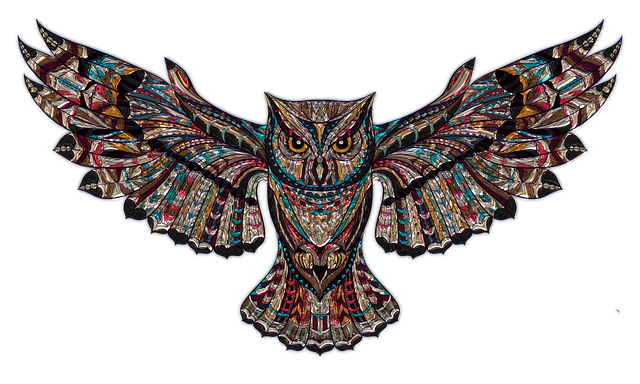 Owl Metallizer Art · Free Image On Pixabay