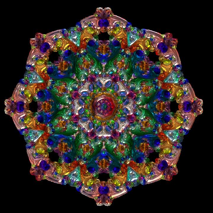 Mandala Rund Bunt Kostenloses Bild Auf Pixabay