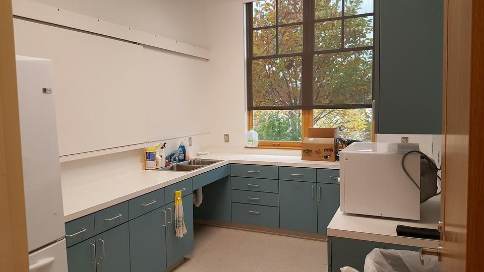 kostenloses foto: küche, arbeit, mikrowelle - kostenloses bild auf ... - Küche Arbeit