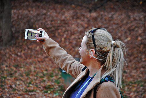 Girl, Selfie, Young, Happy, Lifestyle