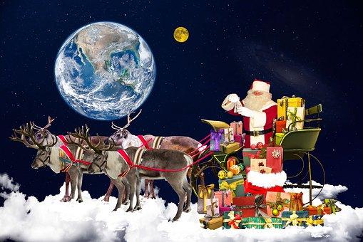 christmas santa claus christmas motif - Santa Claus Christmas Pictures