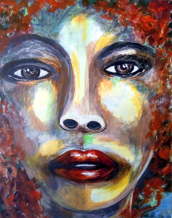 free illustration  painting  portrait  acrylic paint - free image on pixabay
