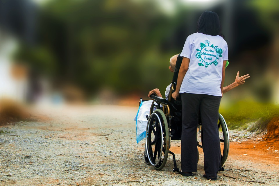 Hospicjum, Popychając Wózek Inwalidzki, Wyłączone