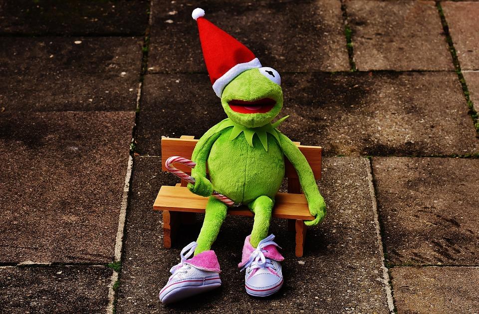 Kermit Frog Christmas Santa · Free photo on Pixabay