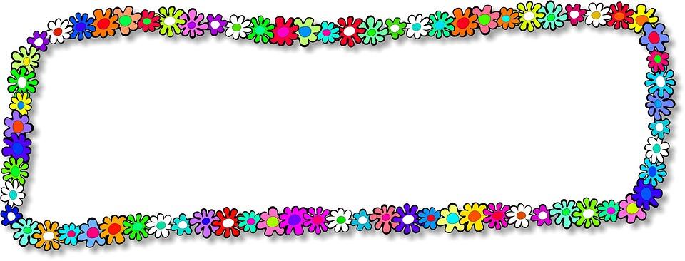 Marco Flores Florales · Imagen gratis en Pixabay