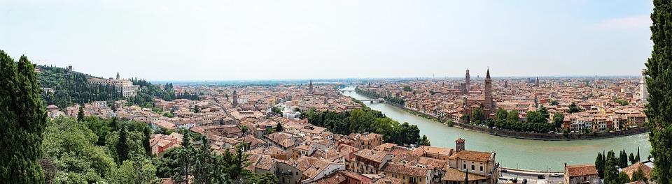 City, Italy, Verona, Mediterranean, Historic Center