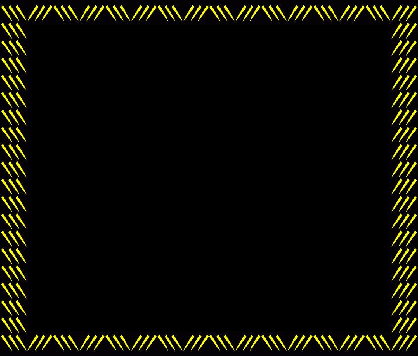 Border Frame Lightning Free Image On Pixabay