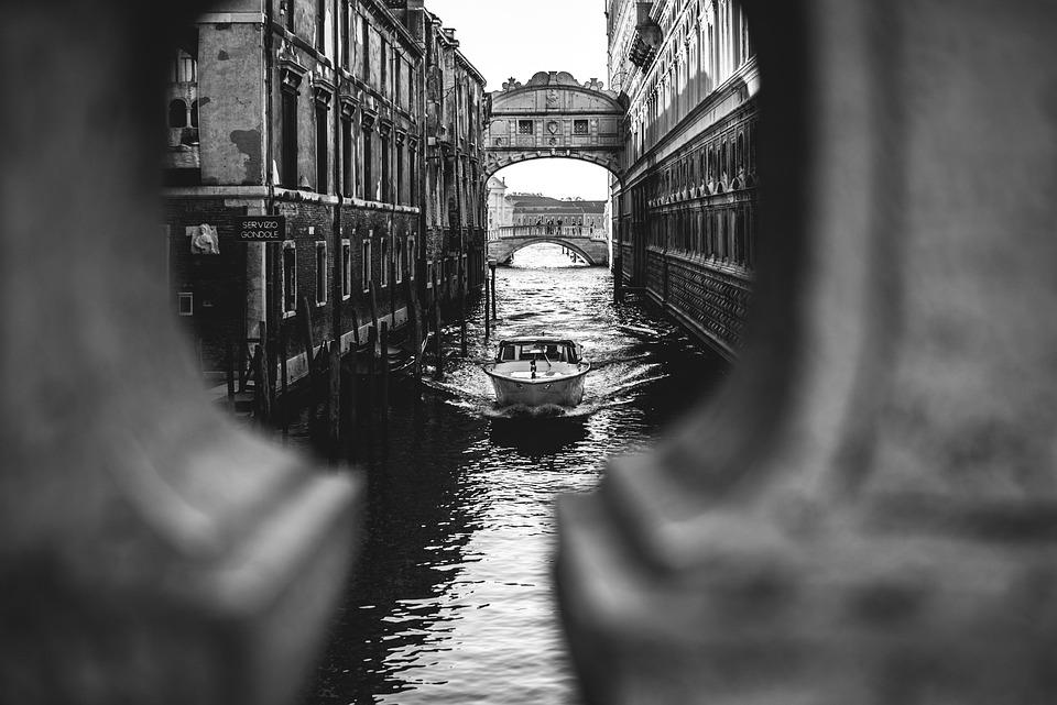 Italie, Venise, Canal, L'Architecture, Historiquement
