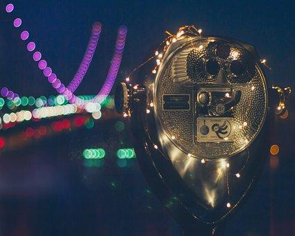 Nyc, New York, Skyline, Lights, Travel