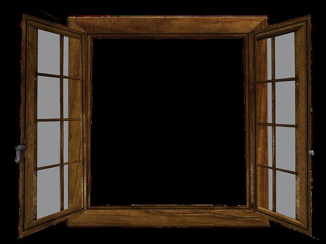 Free Illustration Window Open Window Glass Outlook