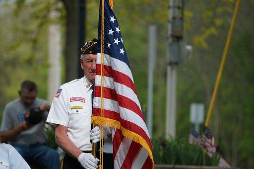 Memorial Day, Vent, Memorial, Flag