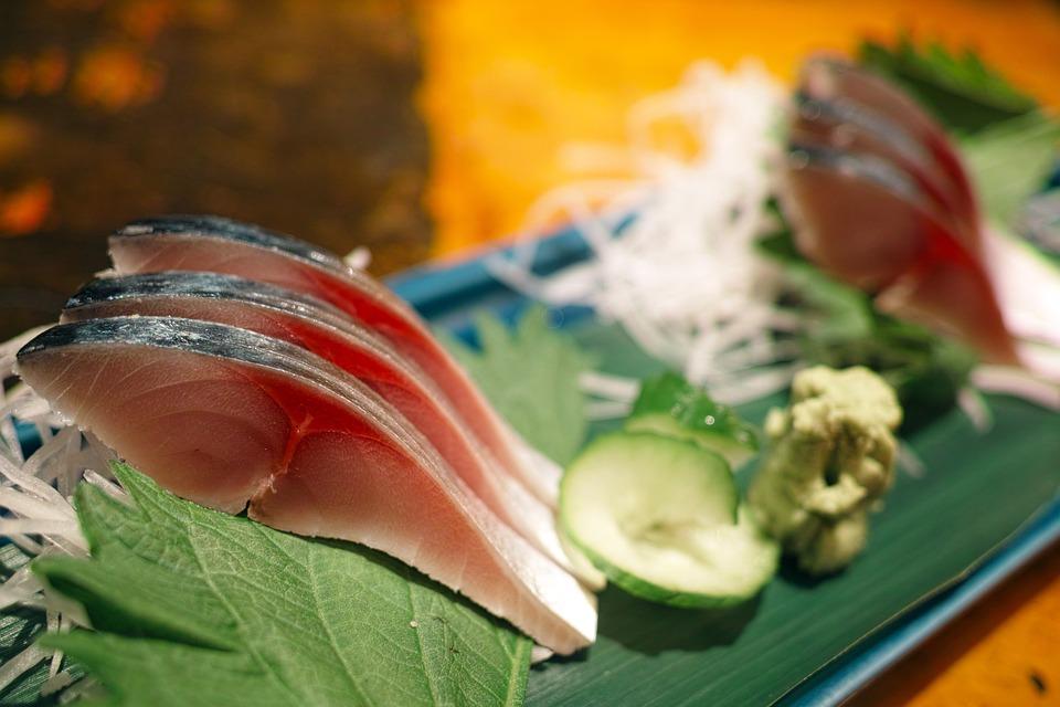 和食, 日本食, 居酒屋, レストラン, 料理, 食品, 食事, 食べ物, 刺し身, 魚, 鯖, 〆鯖