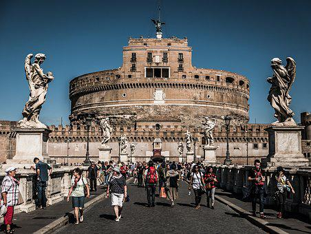 Colosseum, Rome, Bridge, Architecture