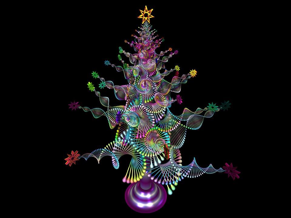 Rbol de navidad feliz imagen gratis en pixabay - Arbol de navidad imagen ...
