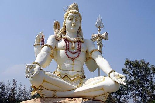 Dewa Siwa, Patung, Dewa, Hindu, Agama