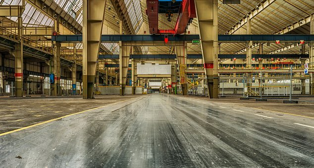 Industrie, Lost Places, Fabrik