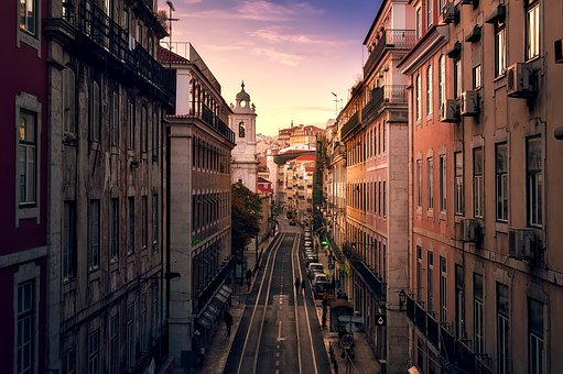 Lisbon, Portugal, City, Urban, Buildings