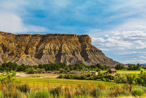 Utah, Farm, Capitol Reef, National Park