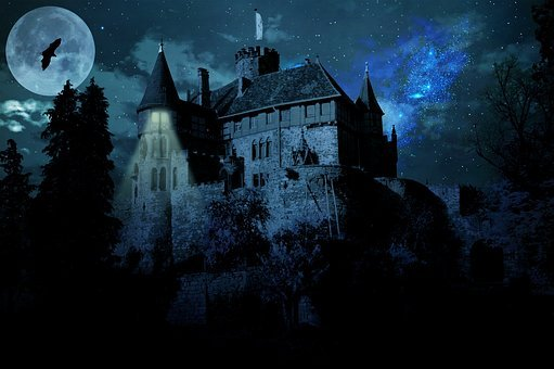 Haunted Castle Ghost Castle Castle Darknes