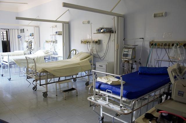 łóżka dla chorych