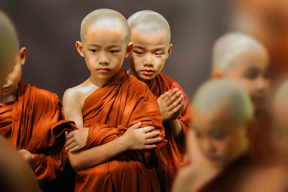 Free photo: Theravada Buddhism, Novices - Free Image on Pixabay ...